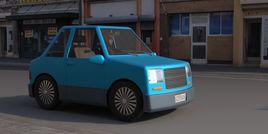 Basic cartoon car
