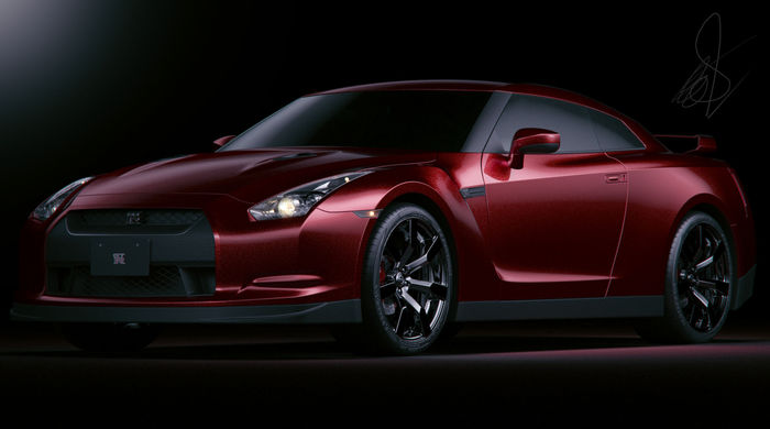 Nissan GT-R [Evermotion] Showcase