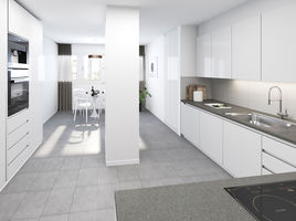 REFURBISHED 3D KITCHEN FOR A REAL ESTATE PROMOTER