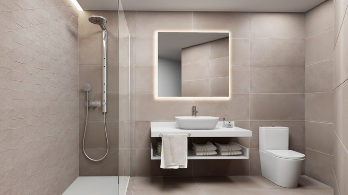 3D BATHROOM FOR A PROPERTY PROMOTER