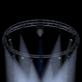 Circle Square Truss 700cm-Stage Lights