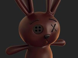 bunny doll 3d model