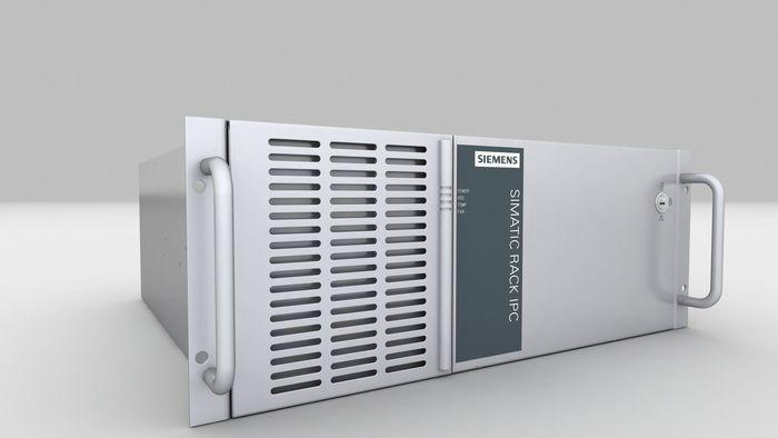 Siemens mainframe computer model | CGTrader