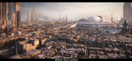 Brave New World - 3D Matte Painting