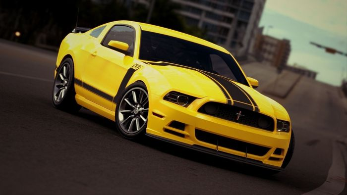 FORD MUSTANG BOSS