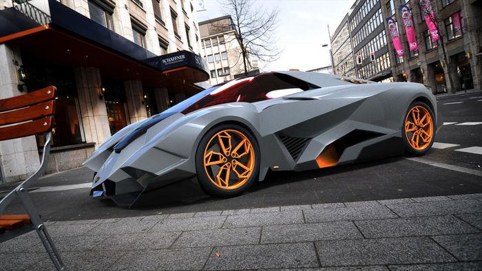 Lamborghini Egoista | CGTrader