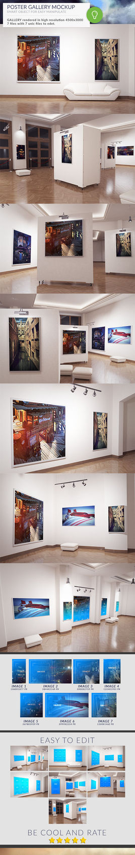 Gallery Posters MOCK-UP
