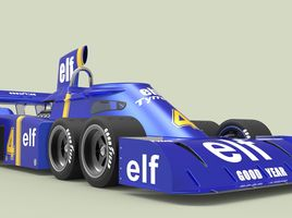 The Tyrrell P34 (six-wheeler)