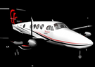 Beechcraft King Air 250 airplane low poly