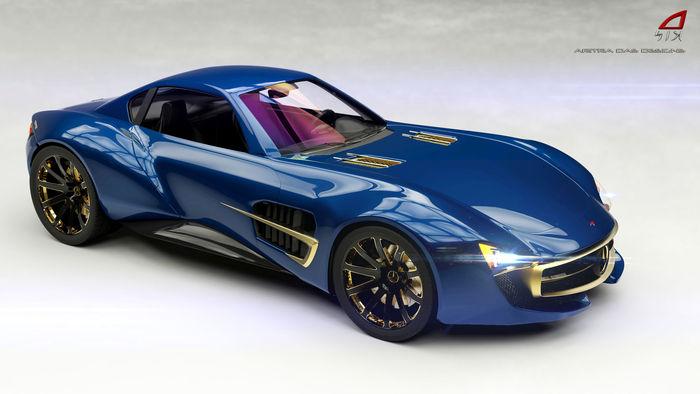 Future Mercedes Benz McLaren SLR AMG GT concept