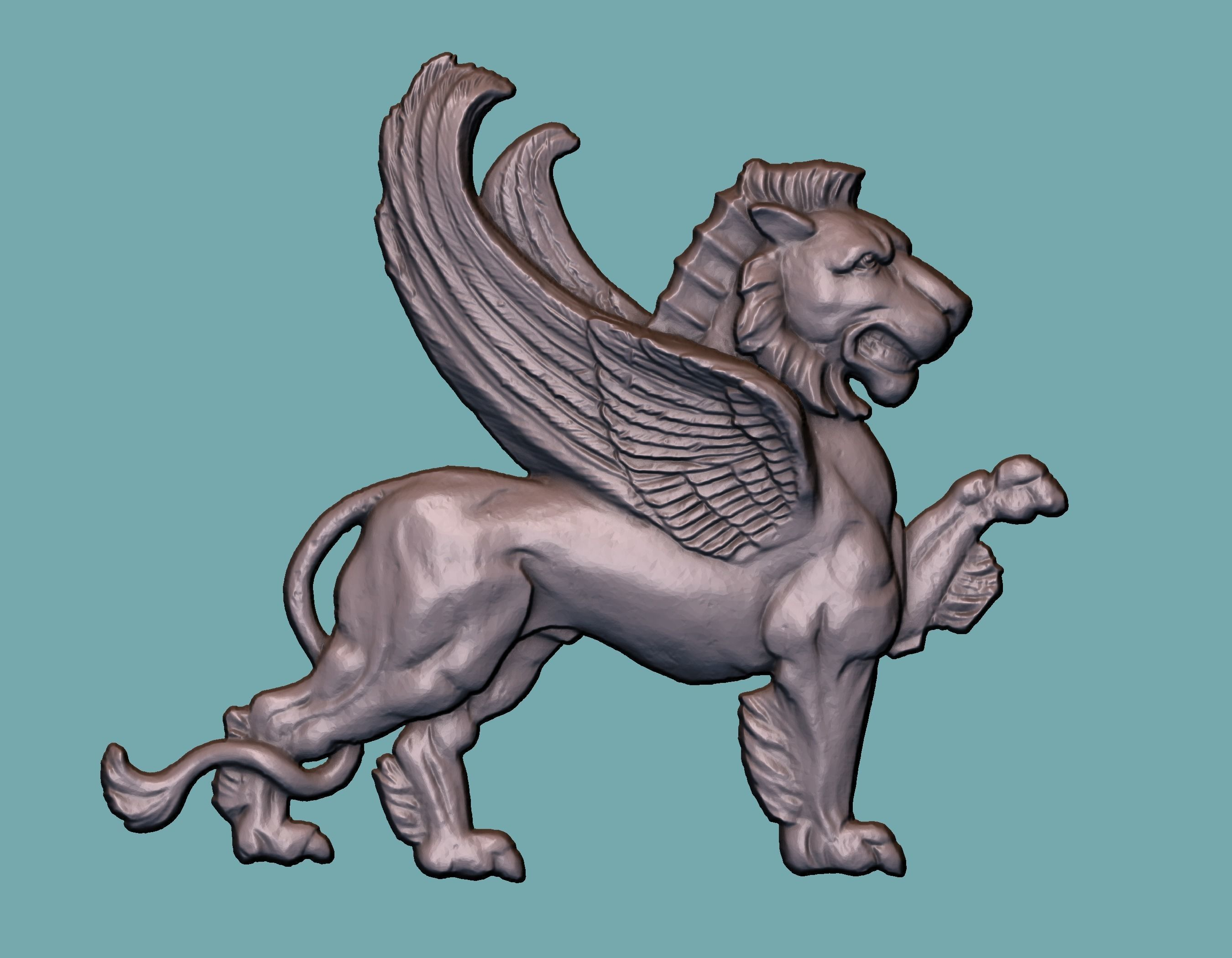 Lion onlay