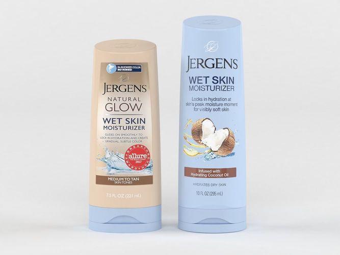 3d jergens natural glow wet skin moisturizer for body