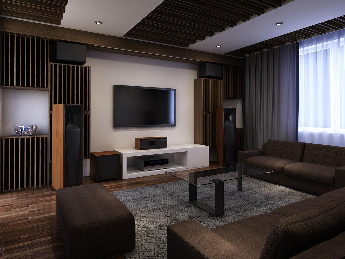 Entertainment room modern
