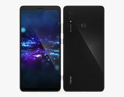 Huawei Honor Note 10 Black 3D