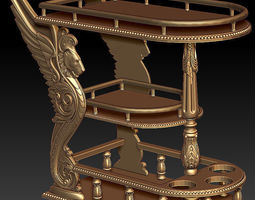 serving table 3D print model