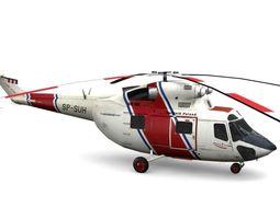 Sokol PZL W-3 3D Model