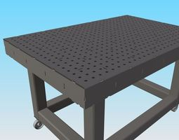 DIY - High Precision Welding Table - Yes you 3D model 2