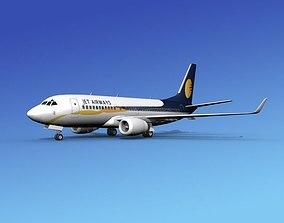 Boeing 737-700ER Jet Airways 3D