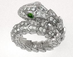 Serpenty ful snake ring 3D printable model