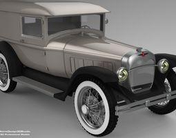 3D Peirce 1931 Series Car Model realtime
