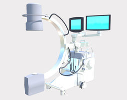 3D model Portable X-Ray