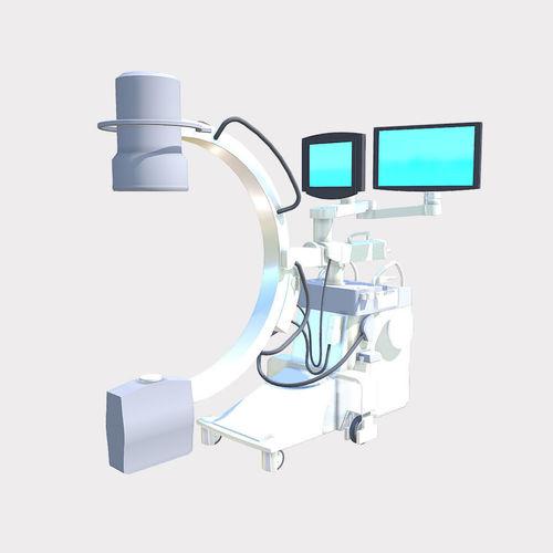 portable x-ray 3d model fbx ma mb 1