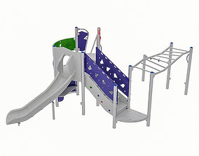 3D asset Playground Equipment 026