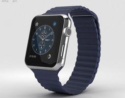 Apple Watch Series 2 42mm Stainless Steel Case 3D model 1