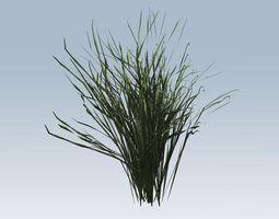 3D asset game-ready Grass