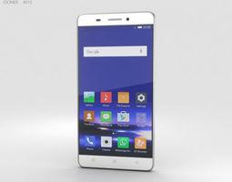 3D model Gionee Marathon M5 White