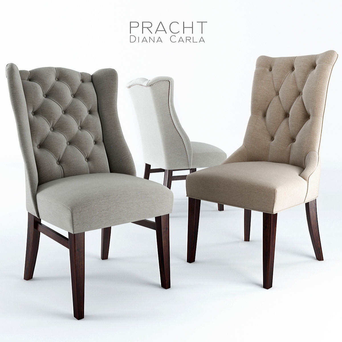 Chairs Pracht Diana and Carla