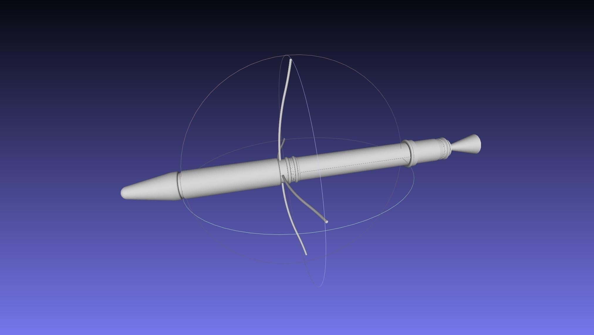 Explorer 1 First US Satellite Printable Scale Model