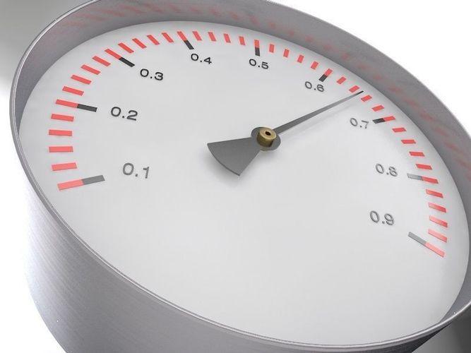 manometer 3d model obj mtl 3ds fbx c4d stl 1