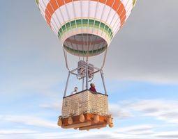 3D Hot Air Balloon fly