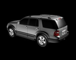 Ford Expedition 2007 3D