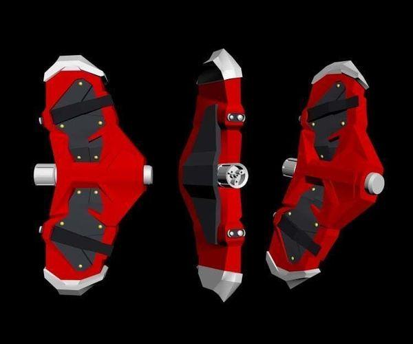 3D Print Model Webshooter Spiderman Ps4 Diy