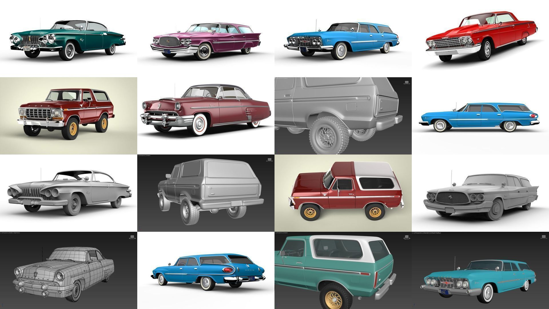 Old school American cars