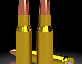 Model of a 762x51 rifle