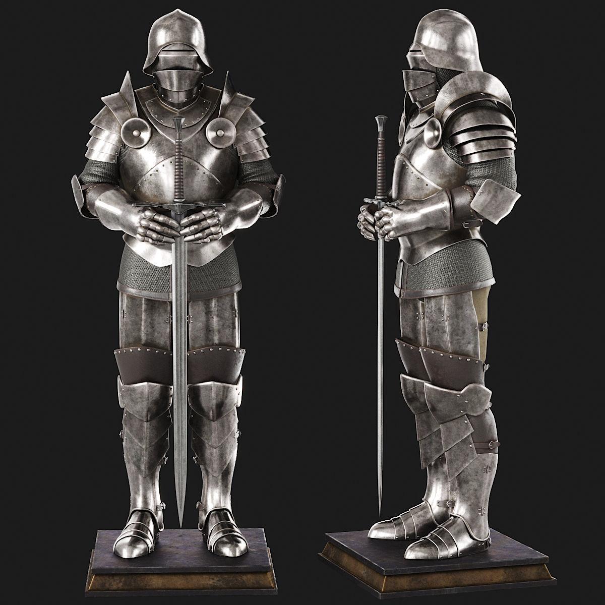 Knight Armor | 3D model