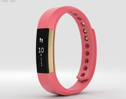 Fitbit Alta Pink-Gold 3D model