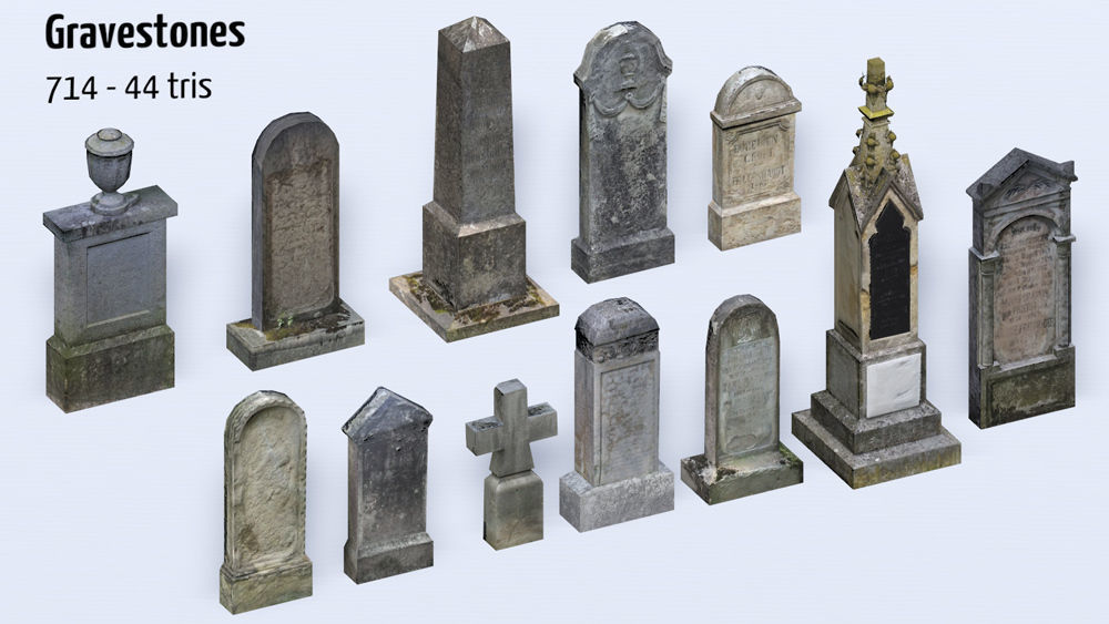 Old Cemetery Pack