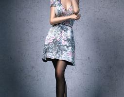 3D Dress Girl