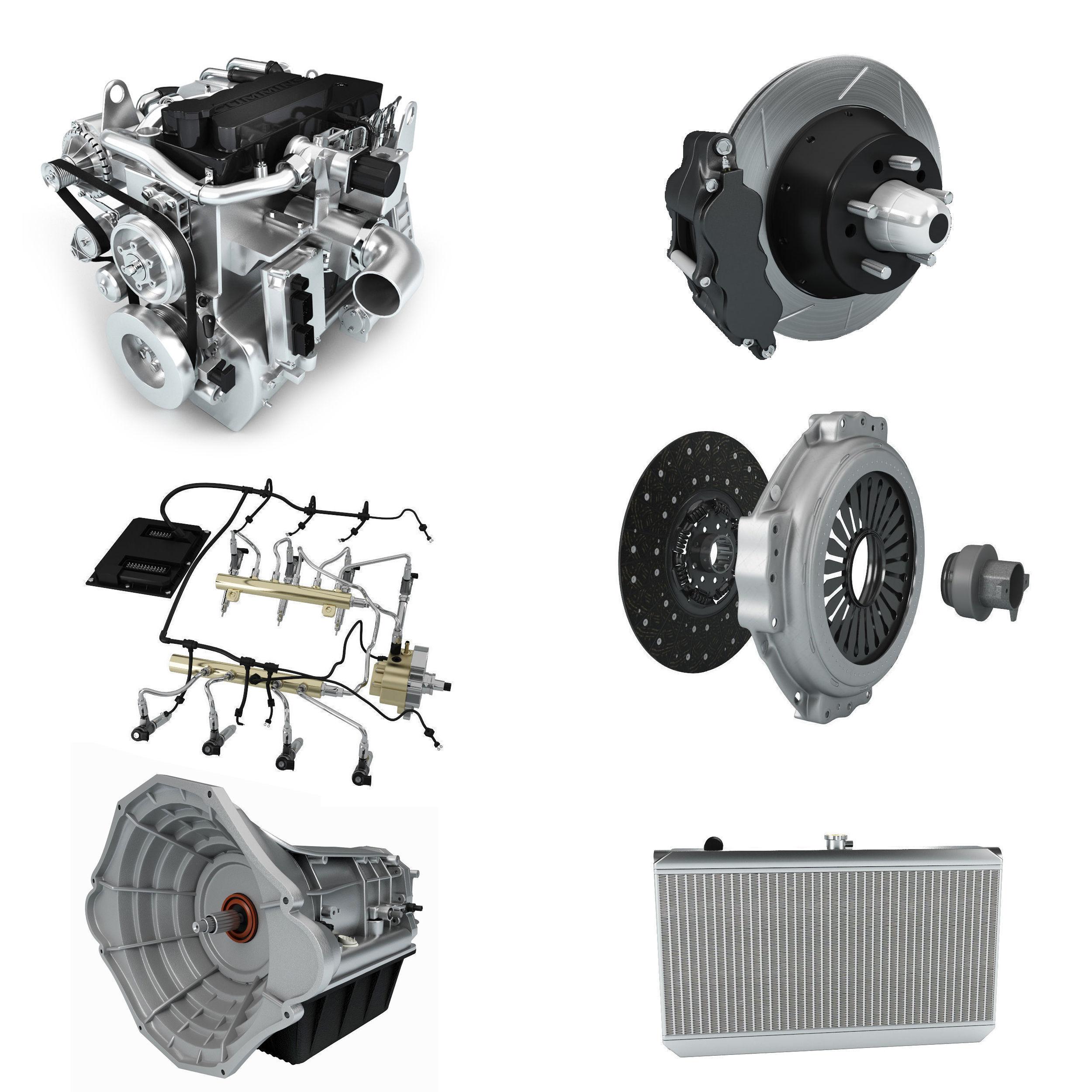 Car Parts 3d Gear Cgtrader