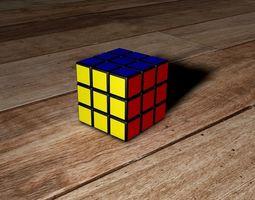 3D asset Rubick cube