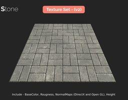 Paving Stone - seamless textures set 3D model