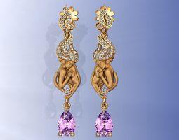 3D print model Magerit Versailles Earrings