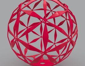 design Daisy Ball Geometric Shape 3D Print Model