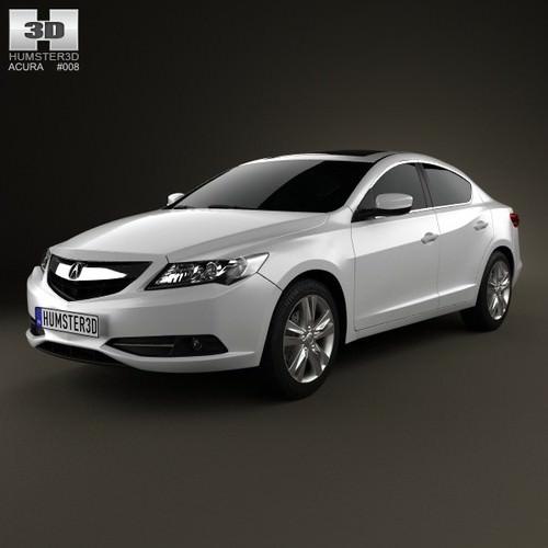 Acura ILX 2013 3D