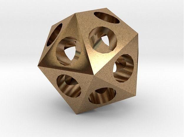 icosahedron 3d model stl 1