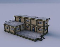 3D asset Armory 01